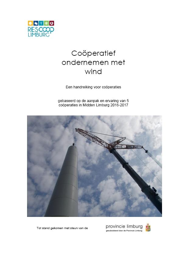 Rapport 'Coöperatief ondernemen met wind'
