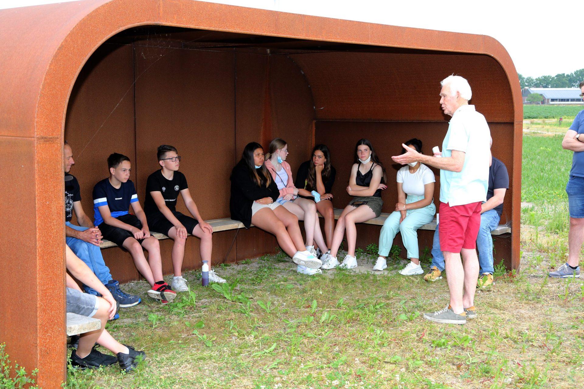 Bezoek Varendonck College uit Someren aan de Coöperwiek